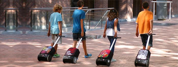 Рюкзак на колесах Roller Bloom Nikidom Испания арт. 9011 (19 литров), - фото 17