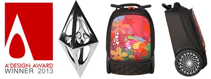 Рюкзак на колесах Roller Bloom Nikidom Испания арт. 9011 (19 литров), - фото 14