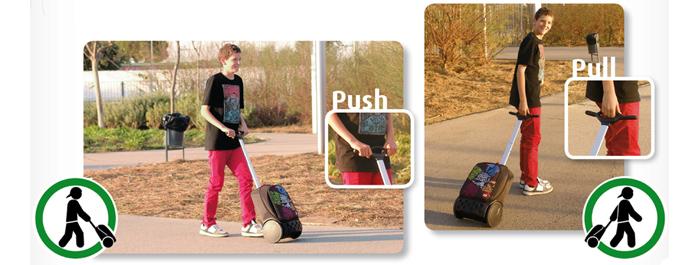 Рюкзак на колесах Roller Bloom Nikidom Испания арт. 9011 (19 литров), - фото 15