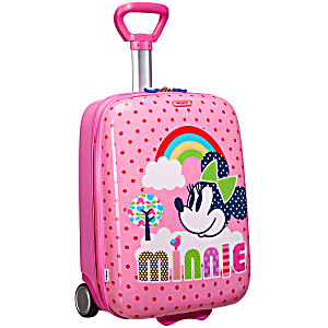 Чемодан детский 2-х колесный Disney Wonder Минни Маус