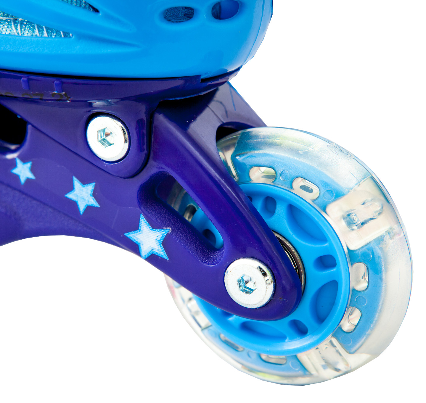 Ролики детские 26 размер, для обучения (трехколесные, раздвижной ботинок) MagicWheels зеленые, - фото 5