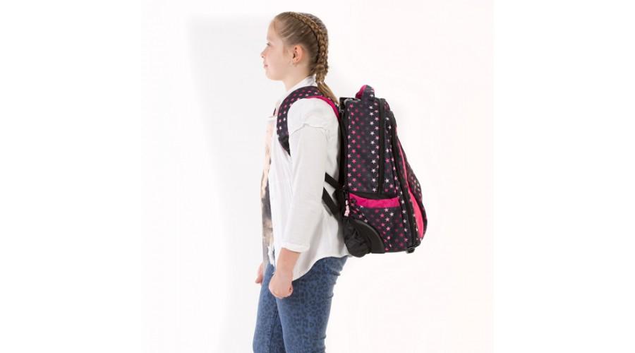 Рюкзак на колесах с выдвижной ручкой Belmil Роза 338-45/655 Rose, - фото 17