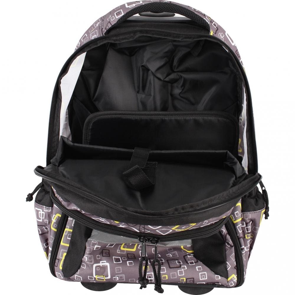 Рюкзак на колесах с выдвижной ручкой Belmil Роза 338-45/655 Rose, - фото 7
