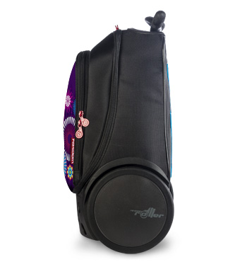 Рюкзак на колесах Roller Bloom Nikidom Испания арт. 9011 (19 литров), - фото 9