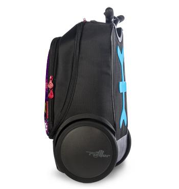 Рюкзак на колесах Roller Bloom Nikidom Испания арт. 9011 (19 литров), - фото 8