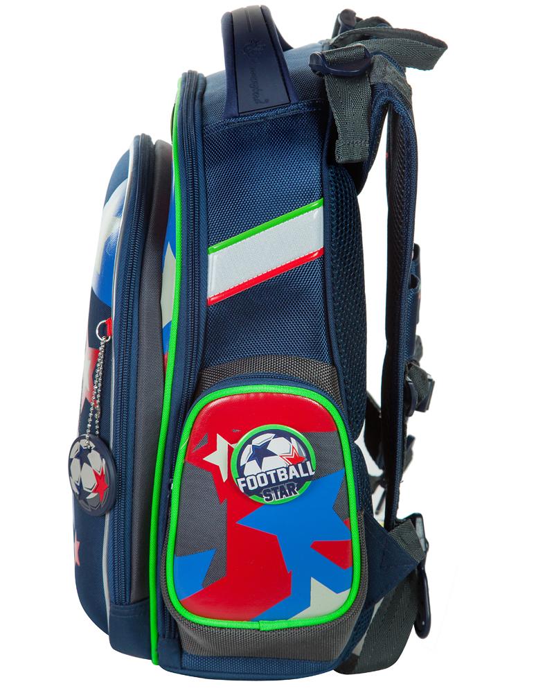 Школьный рюкзак Hummingbird TK49 Звезда футбола - официальный с мешком для обуви, - фото 2