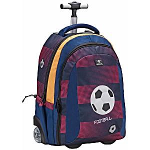Рюкзак с колесами и телескопической ручкой Belmil Футбол 338-45/638 Football Club