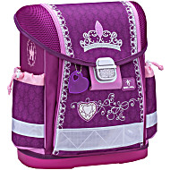 Школьный ранец Belmil 403 13 Little Princess - Фиолетовая корона - Принцесса