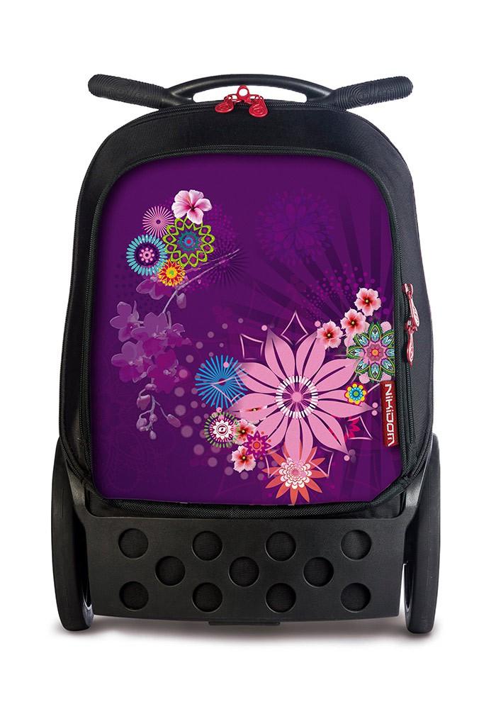 Рюкзак на колесах Roller Bloom Nikidom Испания арт. 9011 (19 литров), - фото 1